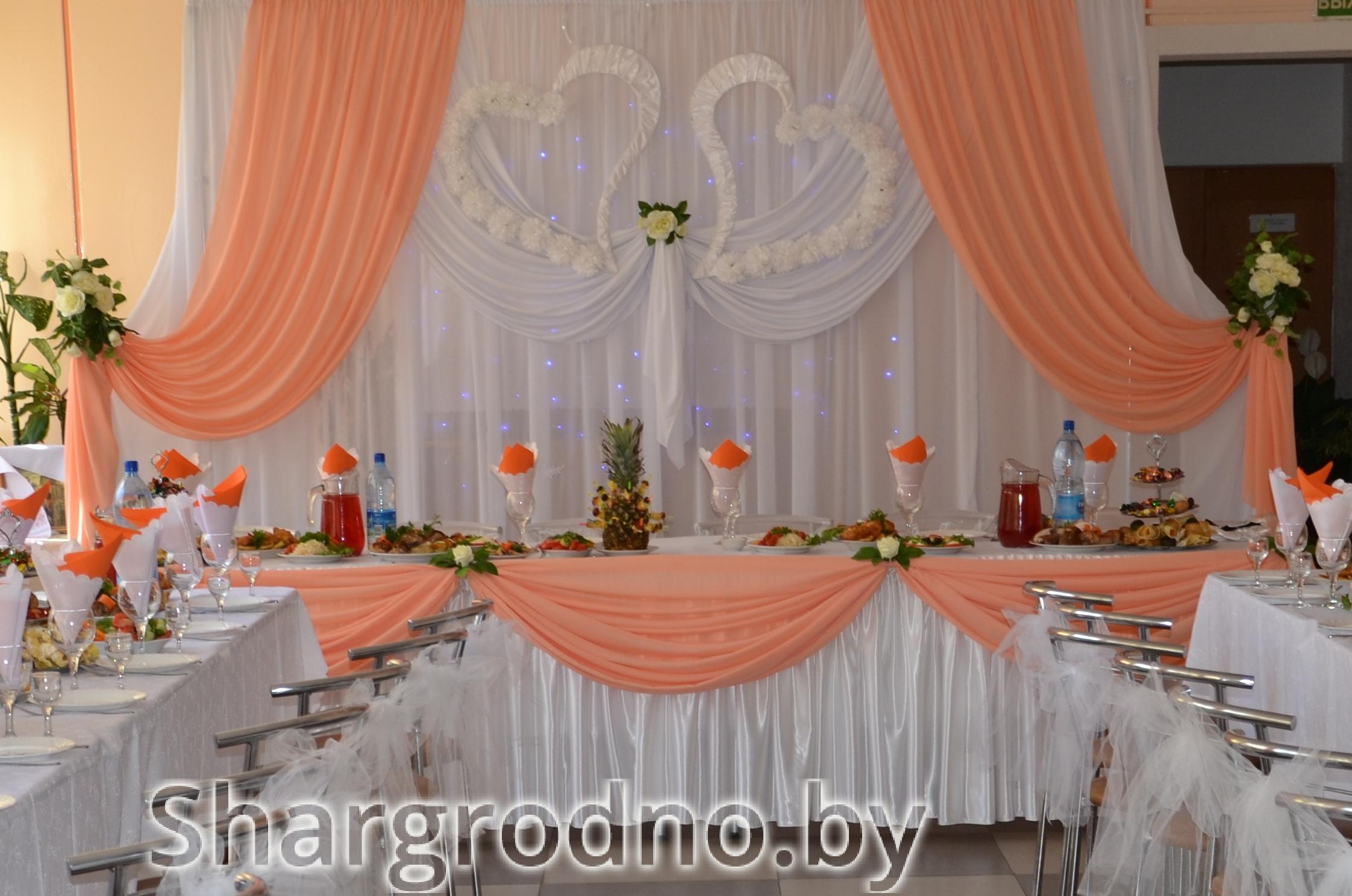 Все для оформления зала на свадьбу своими руками